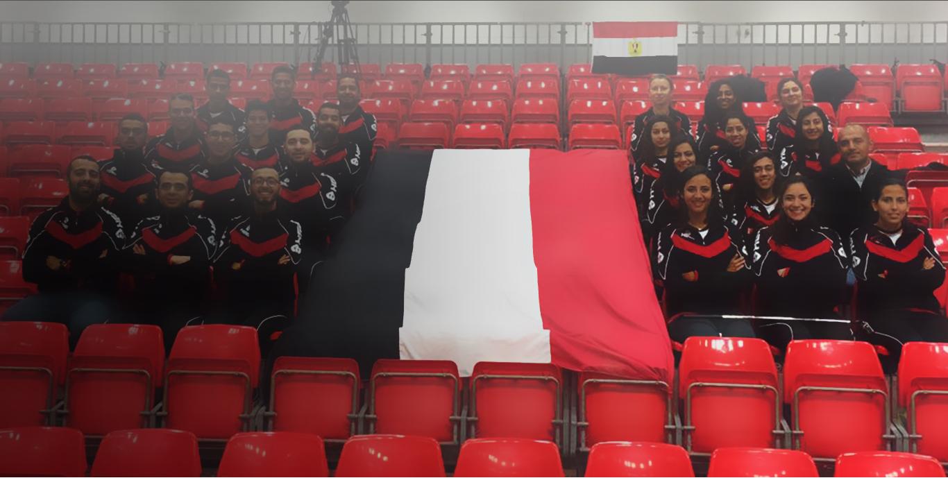 dodgeball Egyptian team